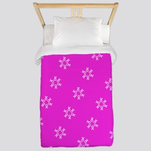 Pink Ribbon Breast Cancer Awareness Twin Duvet