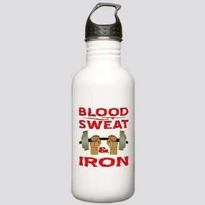 Blood Sweat & Iron Stainless Water Bottle 1.0L