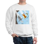 Squirrel and Basejumpers Cartoon Sweatshirt