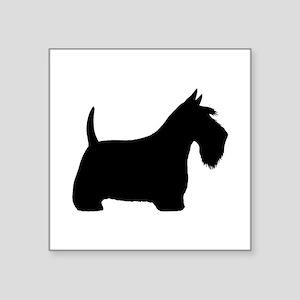 "Scottish Terrier Square Sticker 3"" x 3"""