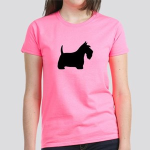 Scottish Terrier Women's Dark T-Shirt