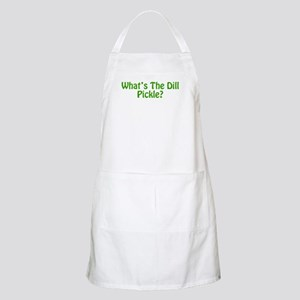 Whats The Dill Pickle? Apron