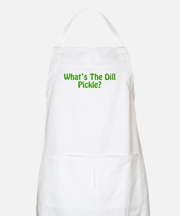 Whats The Dill Pickle?.png Apron