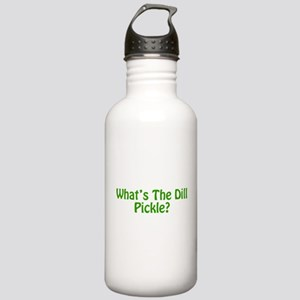 Whats The Dill Pickle? Stainless Water Bottle