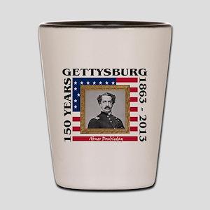 Abner Doubleday - Gettysburg Shot Glass