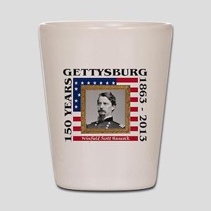 Winfield Scott Hancock - Gettysburg Shot Glass