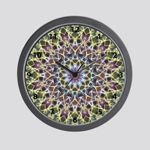 Kaleidoscope filigree in outerspace with numbers W