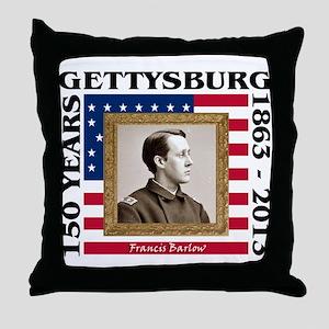 Francis Barlow - Gettysburg Throw Pillow