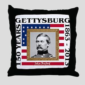 John Buford - Gettysburg Throw Pillow