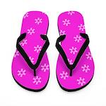 Pink Ribbon Breast Cancer Awareness Flip Flops