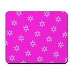 Pink Ribbon Breast Cancer Awareness Mousepad