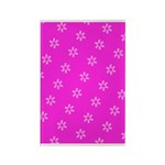 Pink Ribbon Breast Cancer Rectangle Magnet