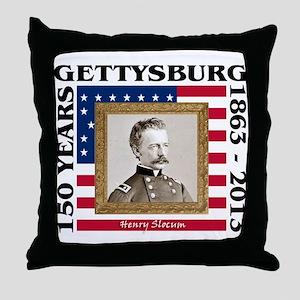 Henry Slocum - Gettysburg Throw Pillow