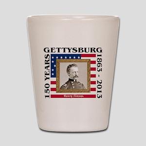 Henry Slocum - Gettysburg Shot Glass