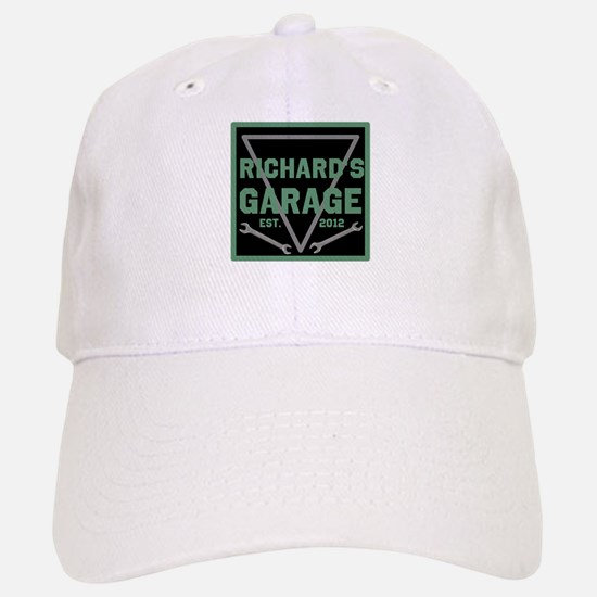 Personalized Garage Baseball Baseball Cap