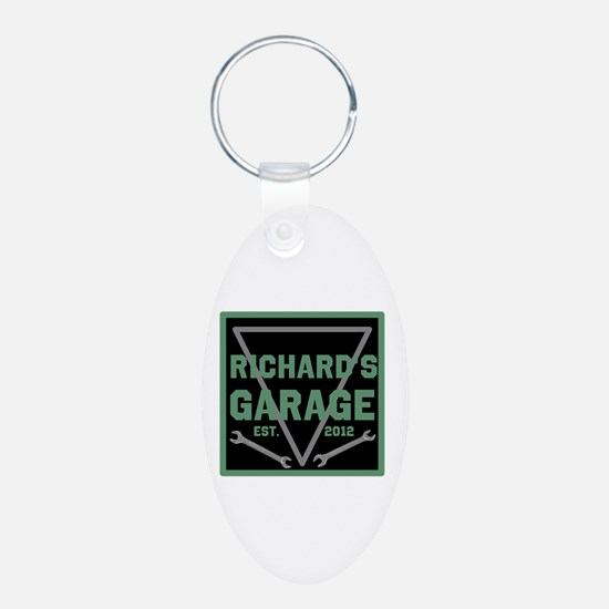Personalized Garage Keychains