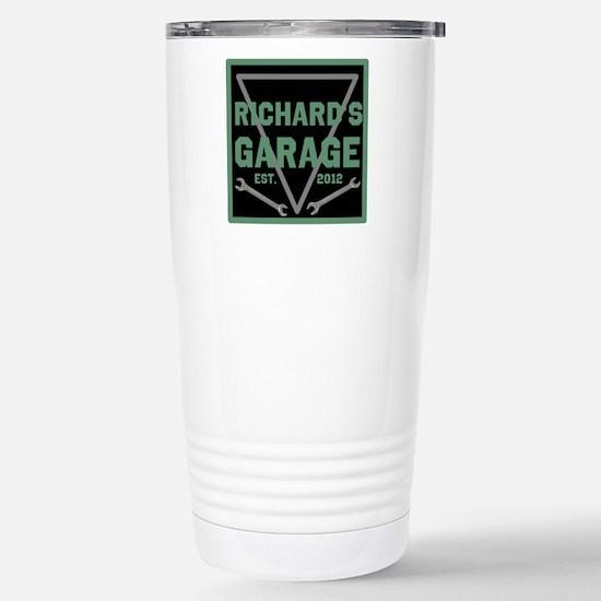 Personalized Garage Stainless Steel Travel Mug