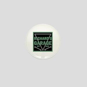 Personalized Garage Mini Button