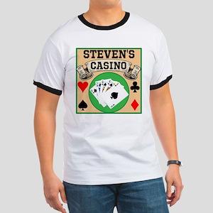 Personalized Casino Ringer T