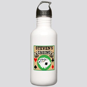 Personalized Casino Stainless Water Bottle 1.0L