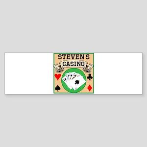 Personalized Casino Sticker (Bumper)