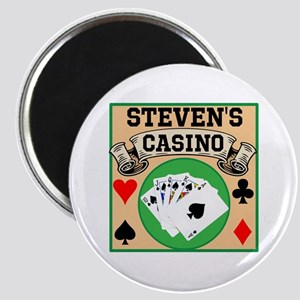 Personalized Casino Magnet