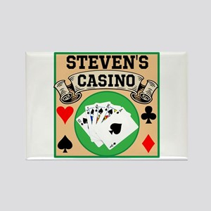 Personalized Casino Rectangle Magnet