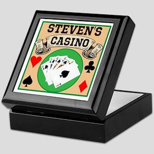 Personalized Casino Keepsake Box