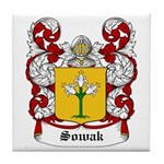 Sowak Coat of Arms Tile Coaster