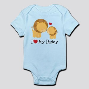 4be094e22 I Love Daddy Baby Clothes   Accessories - CafePress