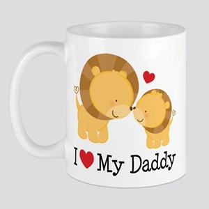I Heart My Daddy Mug