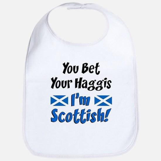 Bet Haggis Im Scottish Bib