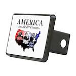 21st Century America Rectangular Hitch Cover