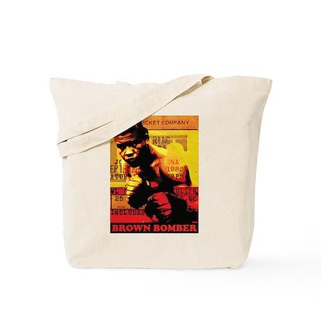 Joe Louis - Brown Bomber Tote Bag