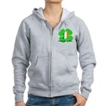 Being Irish Is Lucky Women's Zip Hoodie