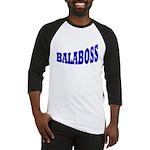 Yiddish BALABOSS Baseball Jersey