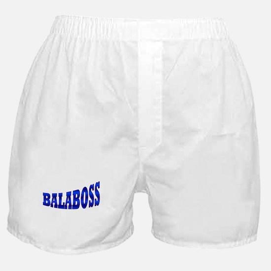 Yiddish BALABOSS Boxer Shorts