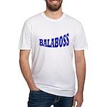 Yiddish BALABOSS Fitted T-Shirt