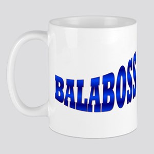 Yiddish BALABOSS Mug