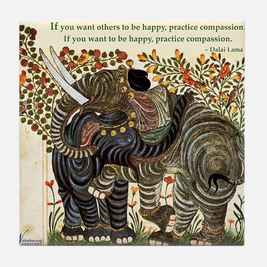 Compassion #1 Tile Coaster