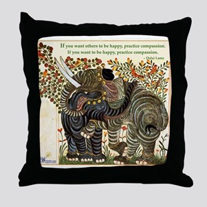 Compassion #1 Throw Pillow