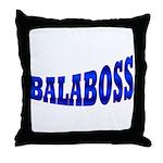 Yiddish BALABOSS Throw Pillow