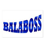 Yiddish BALABOSS Postcards (Package of 8)