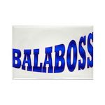 Yiddish BALABOSS Rectangle Magnet (10 pack)