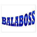 Yiddish BALABOSS Small Poster