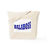 Yiddish BALABOSS Tote Bag