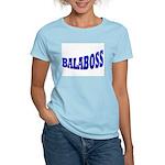 Yiddish BALABOSS Women's Pink T-Shirt