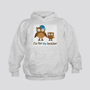 Big Brother - Mod Owl Kids Hoodie