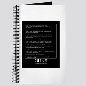 Guns... Any More Questions? Journal