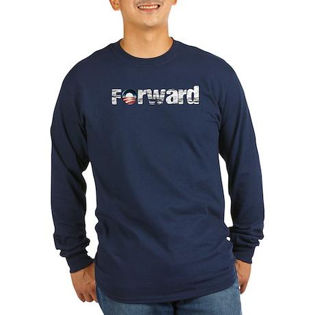 Forward - Obama Shirts Long Sleeve Dark T-Shirt